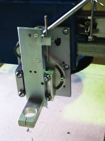 SlabMaster with the plunger mechanism and drill attachment