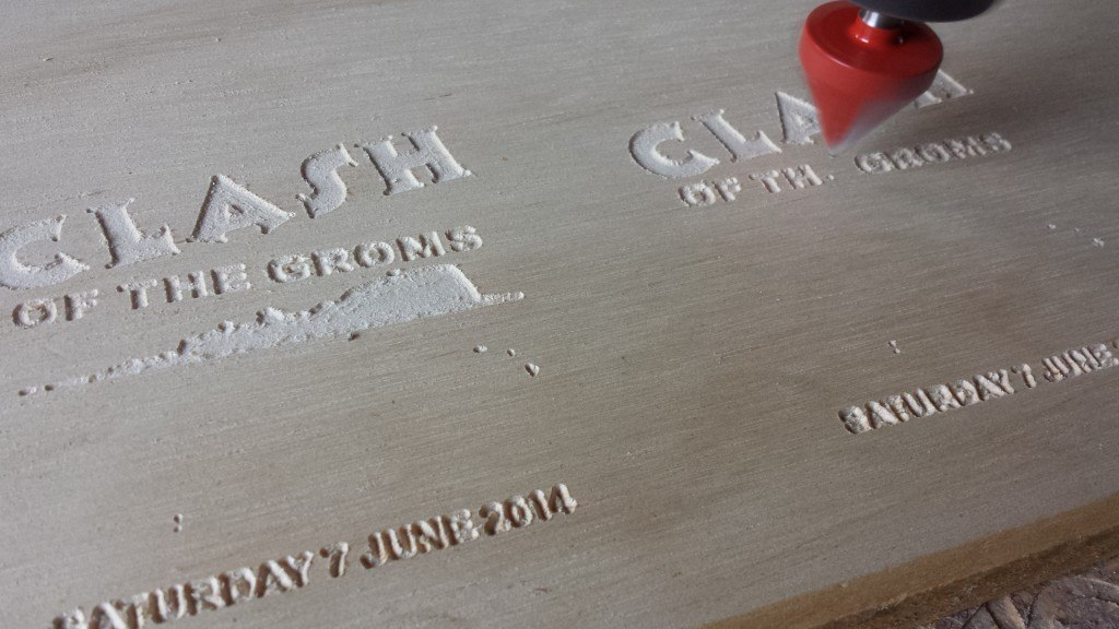 Groms in Wood YAS Engineering CNC Router