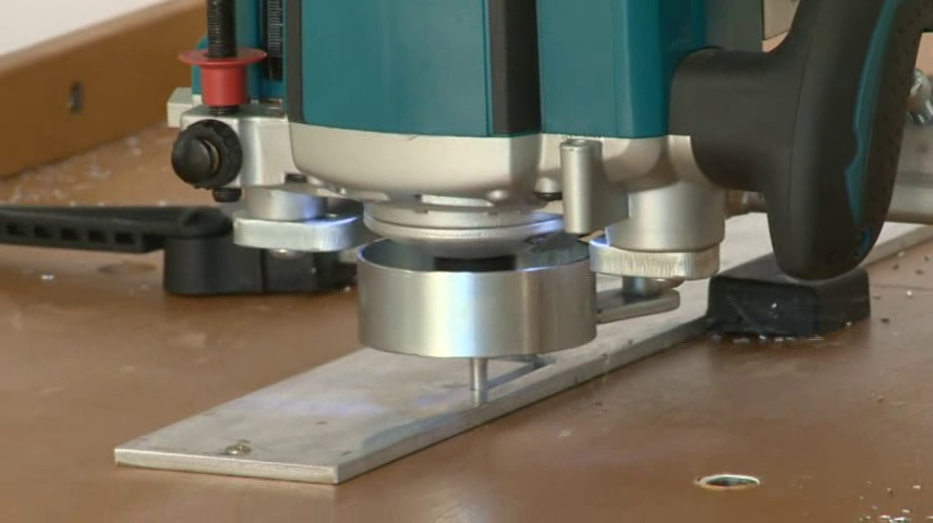 Aluminium requires a high quality router bit