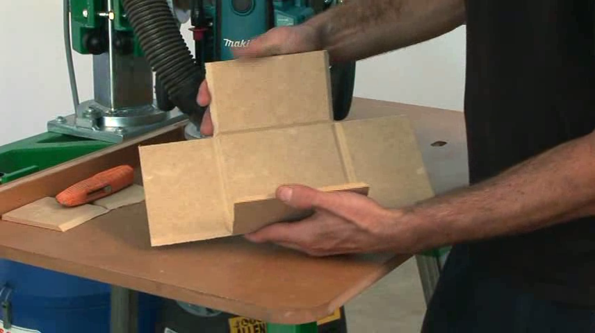 Just a box using the router