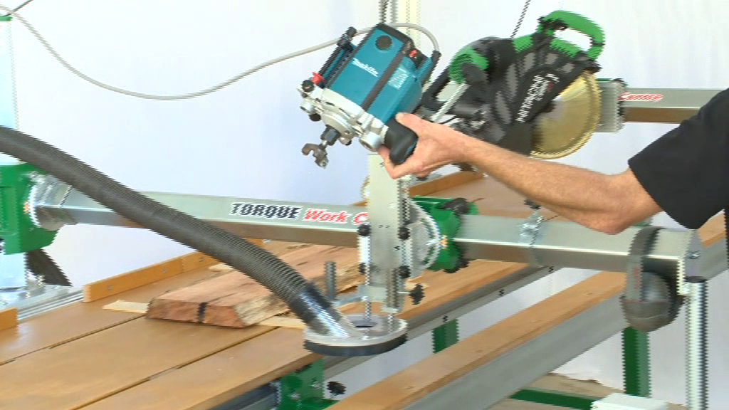 The large router cutter for surfacing slabs